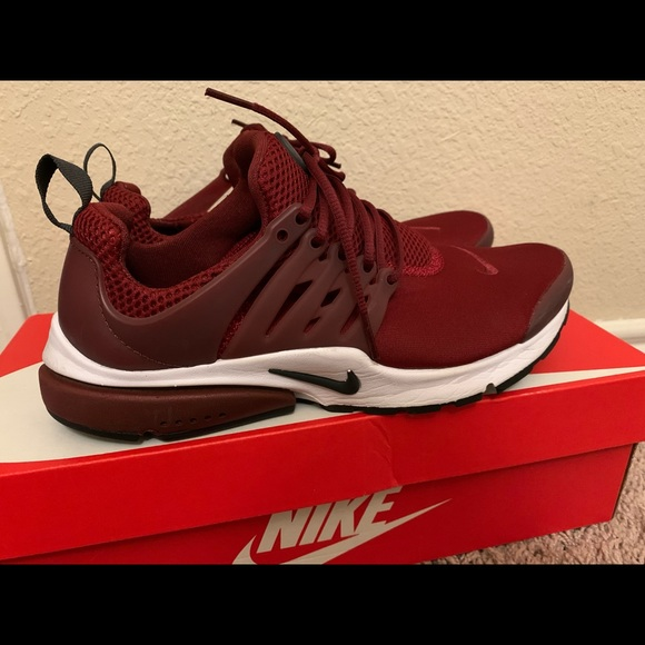 Nike Shoes | Burgundy Nike Prestos